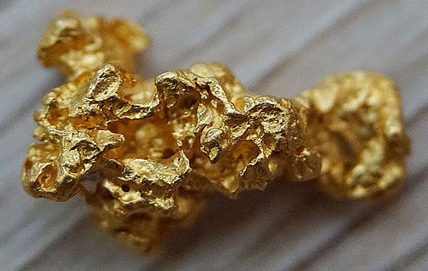 Gold Nugget Close-Up
