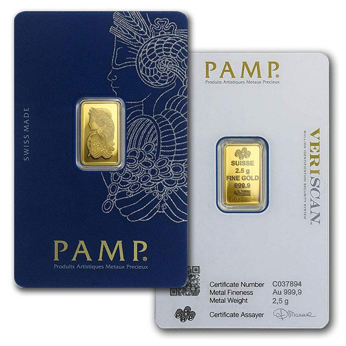 PAMP Suisse Gold Bar