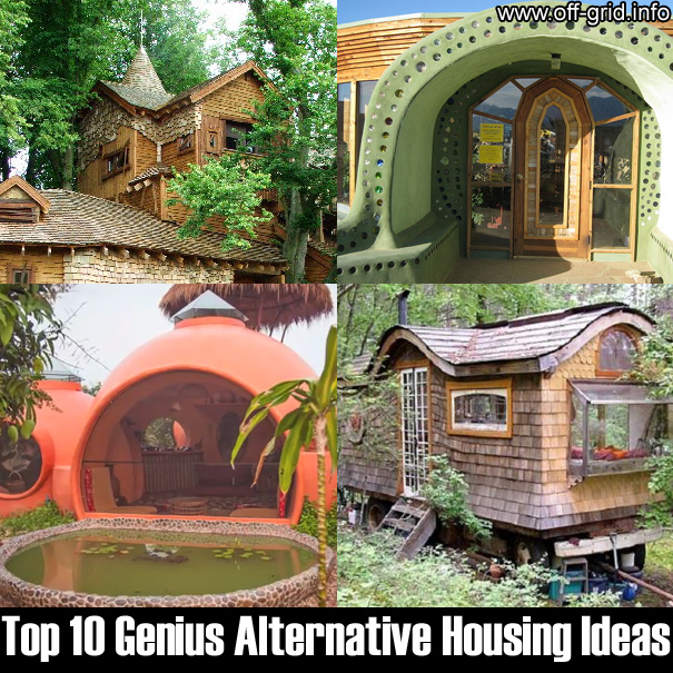 Housing Ideas off grid info - alternative housing