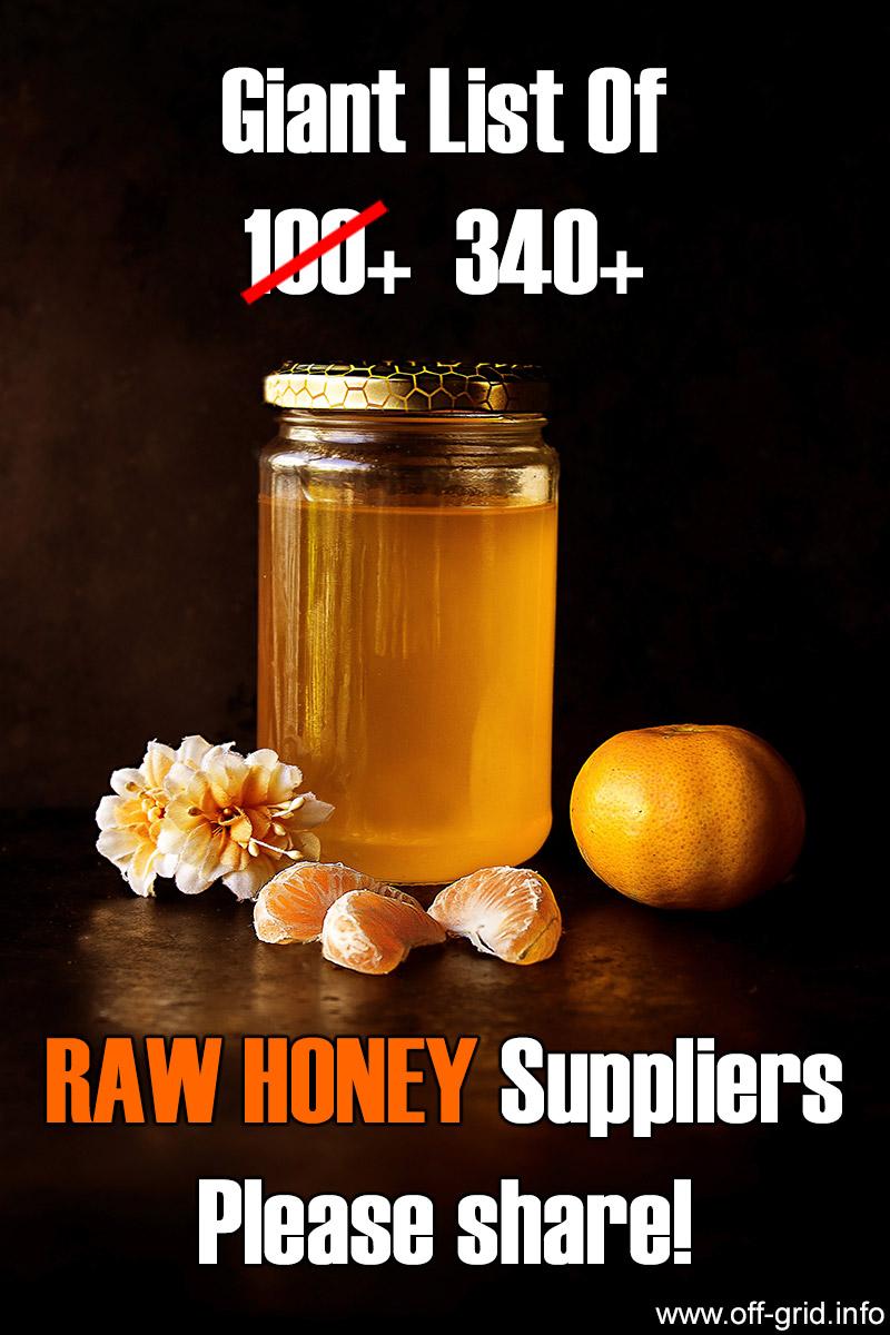Raw Honey Suppliers